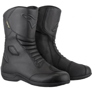 Alpinestars Web Goretex Waterproof Motorcycle Motorbike Touring Boot - Black